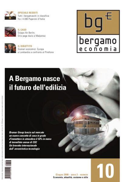 Bergamo Economia Giugno 2008