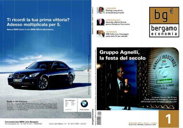Bergamo Economia Settembre 2007