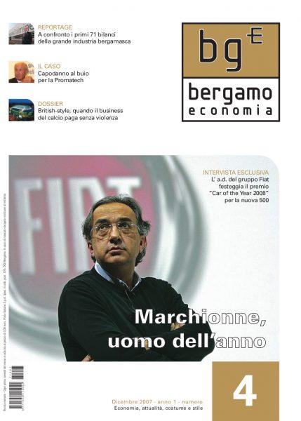 Bergamo Economia Dicembre 2007
