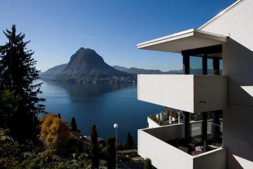 Attico vista lago - Lugano